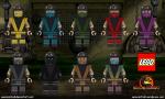 Lego Mortal Kombat - Male Ninja