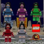 Lego Mortal Kombat - Female Ninja
