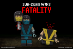 Lego Sub-Zero Fatality