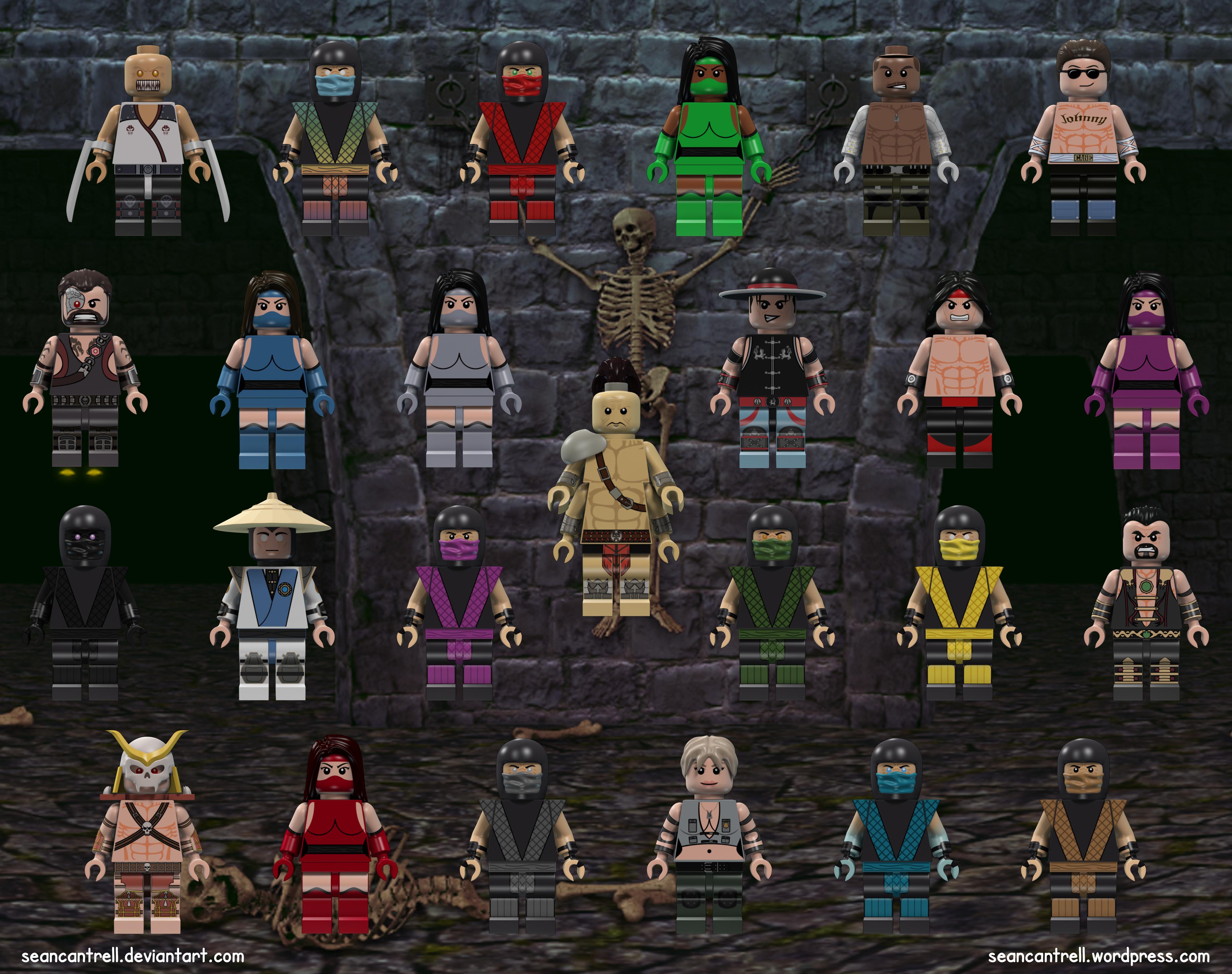Lego Mortal Kombat Set | Sean Cantrell  Lego Mortal Kom...