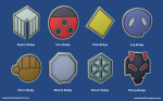 Johto League Badges