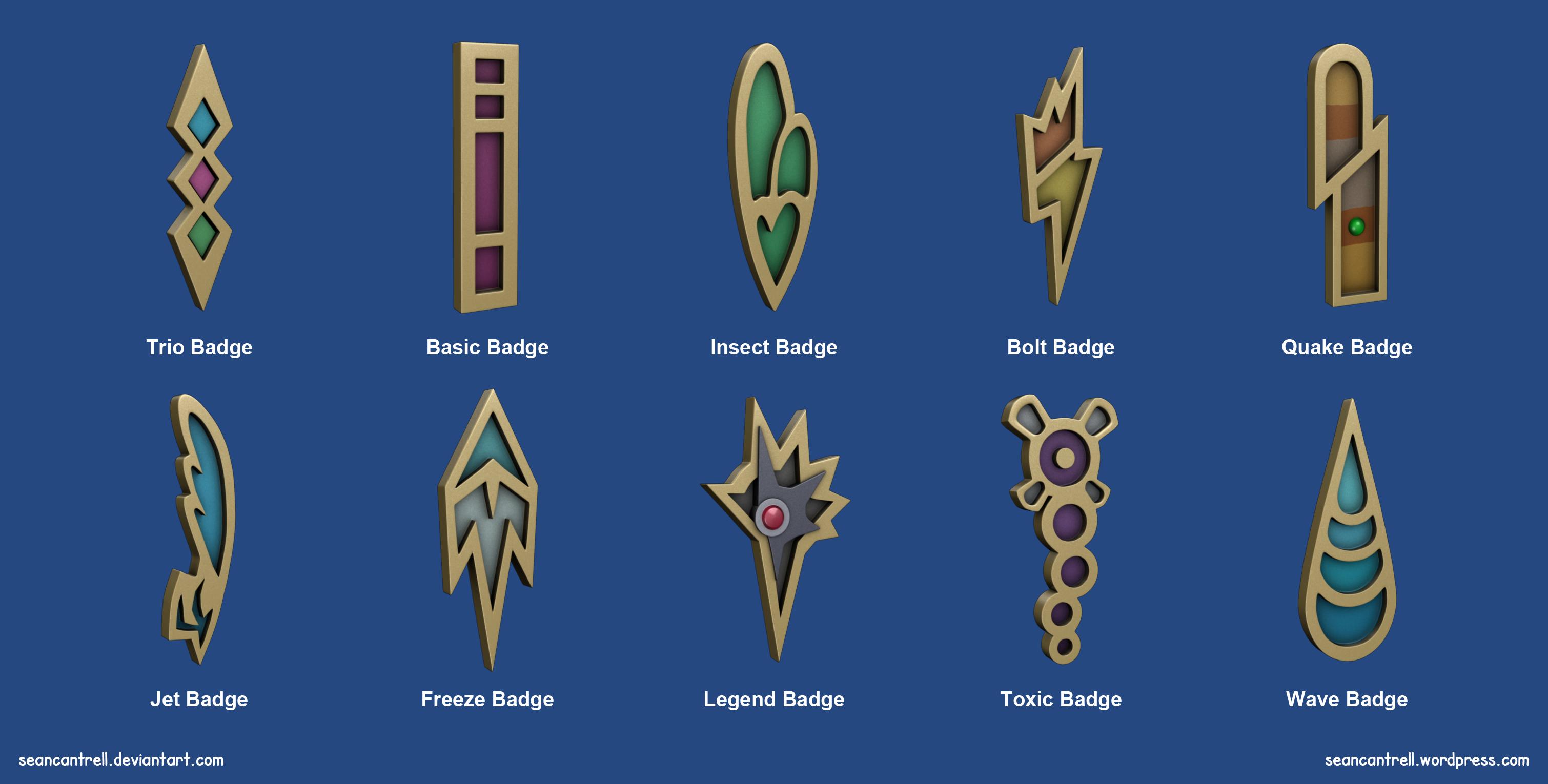 Pokémon Badges – Unova League   Sean Cantrell