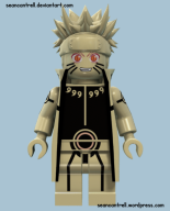 Lego Naruto - Tailed Beast Mode