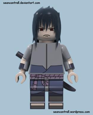 Lego Sasuke - EMS