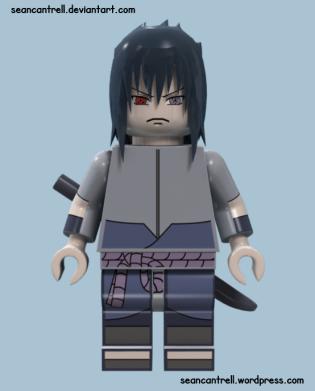 Lego Sasuke - Rinnegan Purple
