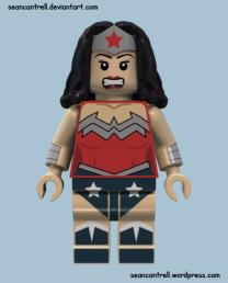 Lego Wonder Woman - New 52