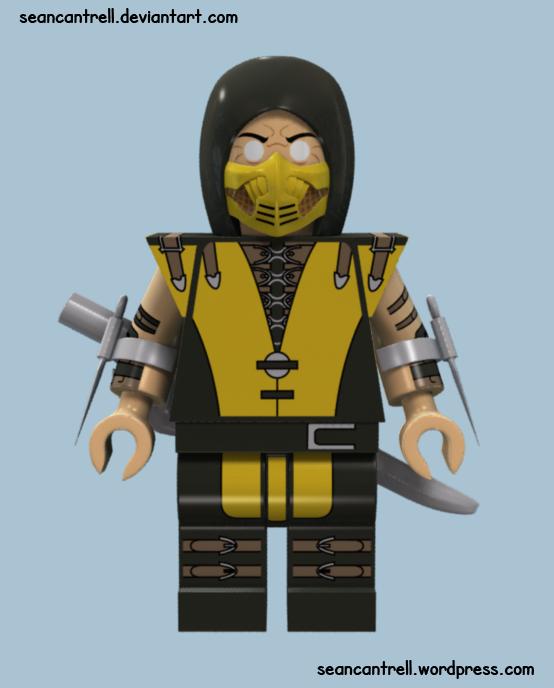 Lego Mortal Kombat X | Sean Cantrell  Lego Mortal Kom...