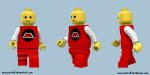 Lego Minifigure Walk Cycle