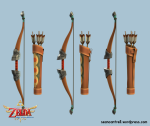 Skyward Sword – Bow and Quiver