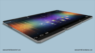 Tablet Mode Side View